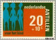 Nederlandse Antillen NA 482  1973 Hulp en zorg 20+10 cent  Gestempeld