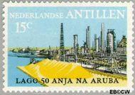 Nederlandse Antillen NA 492  1974 Olie-industrie 15 cent  Gestempeld