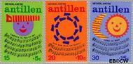 Nederlandse Antillen NA 497#499  1974 Kinderliedjes  cent  Gestempeld