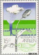 Nederlandse Antillen NA 522  1976 Landbouw  cent  Gestempeld
