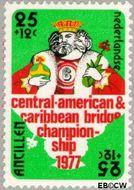 Nederlandse Antillen NA 542  1977 Amphilex '77 25+12 cent  Gestempeld