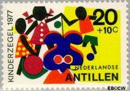 Nederlandse Antillen NA 552  1977 Fantasie-dieren 20+10 cent  Gestempeld