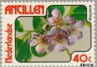 Nederlandse Antillen NA 582  1978 Bloemen 40 cent  Gestempeld