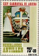 Nederlandse Antillen NA 617  1979 Arubaans carnaval 75+20 cent  Gestempeld