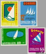 Nederlandse Antillen NA 625#628  1979 Sailing Regatta  cent  Gestempeld
