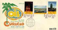 Nederlandse Antillen NA E36  1965 Olie-industrie  cent  FDC zonder adres