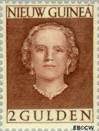 Nieuw-Guinea NG 20  1953 Type 'En Face' 200 cent  Gestempeld