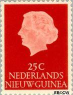Nieuw-Guinea NG 30  1954 Type 'En Profile' 25 cent  Gestempeld