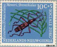 Nieuw-Guinea NG 70  1961 Sociale zorg 10+5 cent  Gestempeld