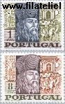 POR 1049#1050 Postfris 1968 Goes, Bento de