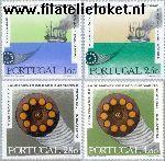 POR 1113#1116 Postfris 1970 Zeekabelverbinding Portugal-Groot- Brittannië