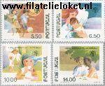 POR 1443#1446 Postfris 1979 Int. Jaar van het Kind