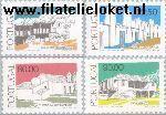 POR 1682#1685 Postfris 1986 Traditionele architectuur