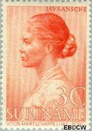 Suriname SU 191  1940 Leprabestrijding 3+2 cent  Gestempeld