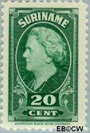 Suriname SU 231  1945 Koningin Wilhelmina 20 cent  Gestempeld
