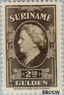 Suriname SU 241  1945 Koningin Wilhelmina 250 cent  Gestempeld