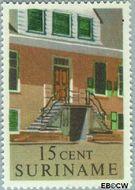 Suriname SU 362  1961 Historische gebouwen 15 cent  Gestempeld