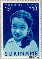 Suriname SU 400  1963 Surinaamse kinderen 15+10 cent  Gestempeld