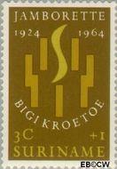 Suriname SU 410  1964 Jamborette 3+1 cent  Gestempeld