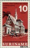 Suriname SU 450  1966 Paters Redemptoristen 10 cent  Gestempeld