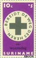 Suriname SU 490  1968 Pasen 10+5 cent  Gestempeld