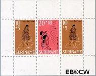 Suriname SU 510  1968 Kinderspelen  cent  Gestempeld