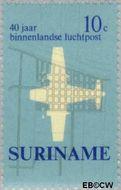 Suriname SU 540  1970 Eerste binnenlandse postvlucht 10 cent  Gestempeld