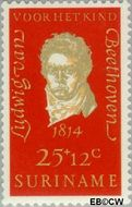 Suriname SU 550  1970 Componisten 25+12 cent  Gestempeld