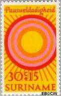 Suriname SU 560  1971 Paassymbolen 30+15 cent  Gestempeld