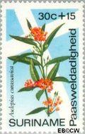 Suriname SU 620  1974 Bloemen 30+15 cent  Gestempeld