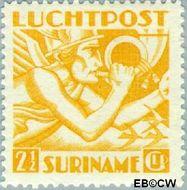 Suriname SU LP17  1941 Mercurius 250 cent  Gestempeld