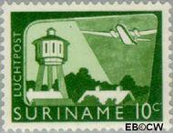 Suriname SU LP35  1965 Landschappen 10 cent  Gestempeld