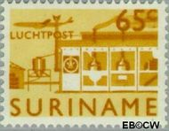 Suriname SU LP45  1965 Landschappen 65 cent  Gestempeld
