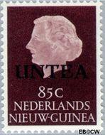 West-Nieuw-Guinea NG WNG19  1962 UNTEA opdruk 85 cent  Gestempeld