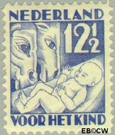 Nederland NL 235  1930 Jaargetijden 12½+3½ cent  Postfris