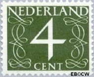 Nederland NL 774  1962 Cijfer- Proef fluorescentie 4 cent  Postfris