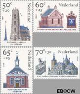 Nederland NL 1324#1327  1985 Kerken  cent  Postfris