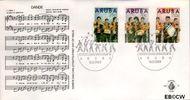 Aruba AR E24  1989 Dande/Nieuwjaar  cent  FDC zonder adres