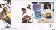Aruba AR E120a  2005 Roofvogels  cent  FDC zonder adres