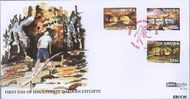 Aruba AR E145  2009 Grotten  cent  FDC zonder adres