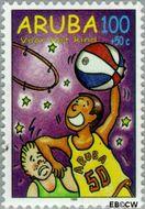 Aruba AR 220  1998 Hobby's 100+50 cent  Gestempeld