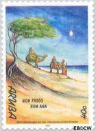 Aruba AR 240  1999 Bijbelse voorstellingen 40 cent  Gestempeld
