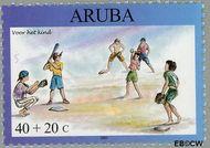 Aruba AR 310  2003 Kinderzegels 40+20 cent  Gestempeld