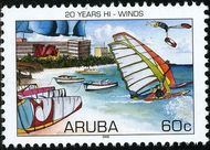 Aruba AR 363  2006 Hi-Winds 60 cent  Gestempeld