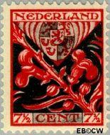 Nederland NL 210  1927 Provinciewapens 7½+3½ cent  Gestempeld