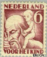 Nederland NL 234  1930 Jaargetijden 6+4 cent  Gestempeld