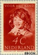 Nederland NL 302  1937 Kinderportret Frans Hals 4+2 cent  Gestempeld