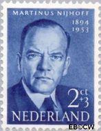 Nederland NL 641  1954 Bekende personen 2+3 cent  Gestempeld