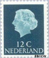 Nederland NL 776  1962 Koningin Juliana- Proef fluorescentie 12 cent  Gestempeld