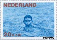 Nederland NL 872  1966 Levensstadia kind 20+10 cent  Gestempeld